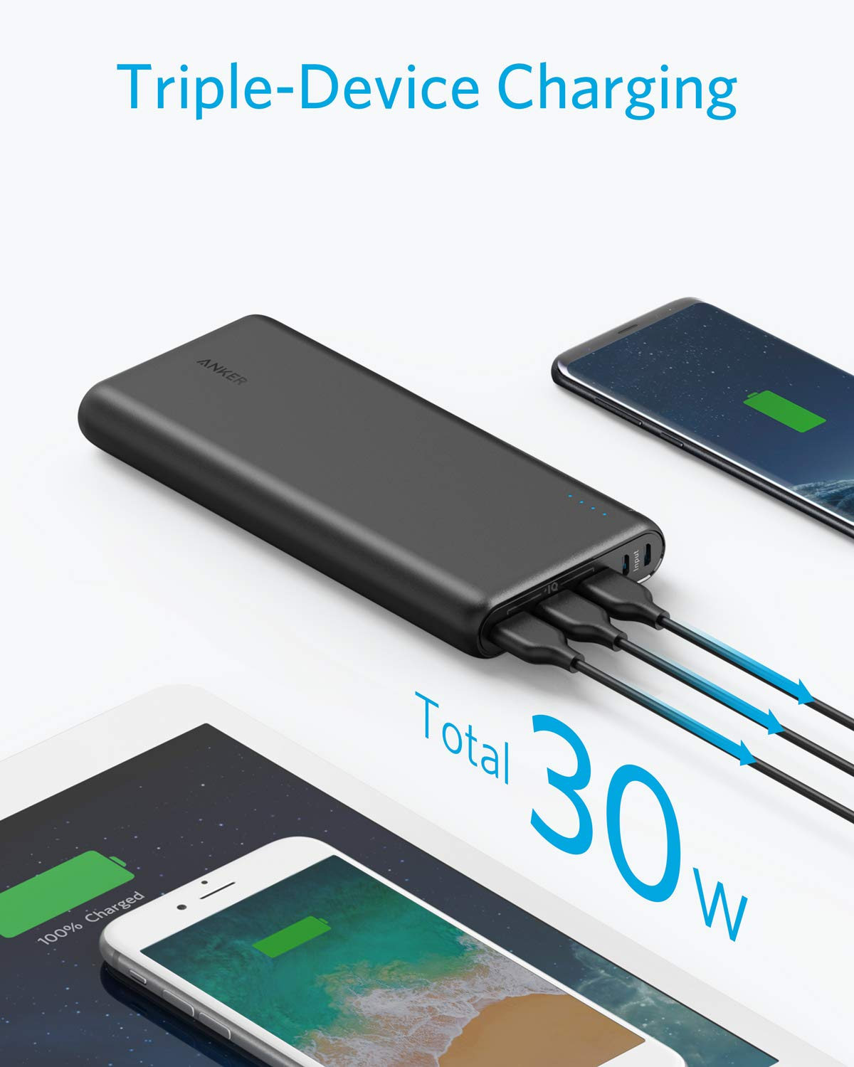 Anker PowerCore 26800 Portable Charger, 26800mAh