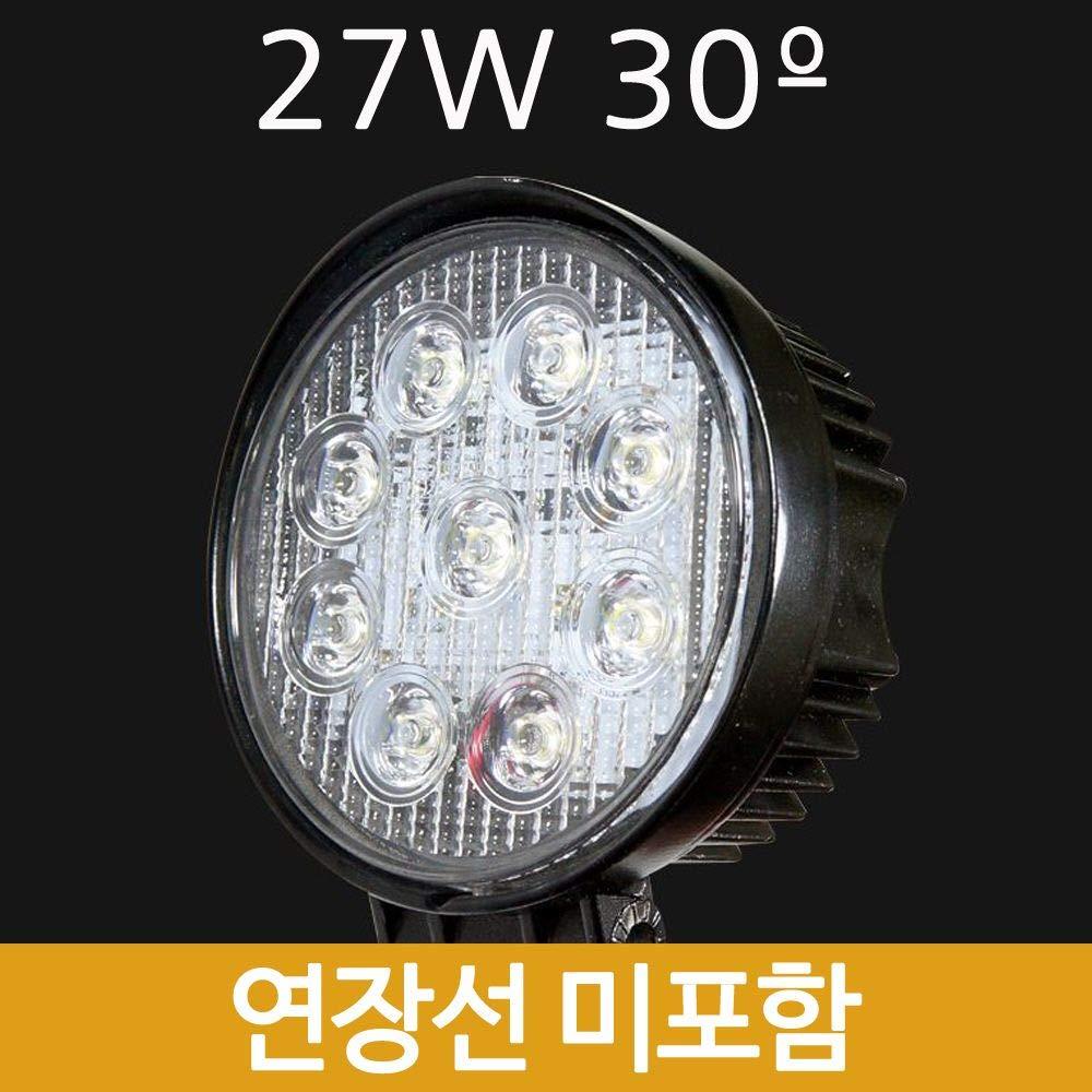 SH Led Searchlight Circular 27W