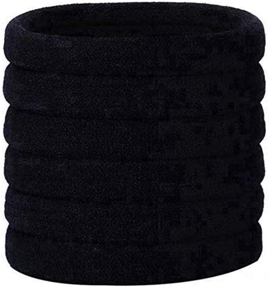 Ealicere Goma de Pelo, 30 Piezas Banda de Pelo Elástica de Negro para Peinados de Mujeres y Chicas por Ealicere