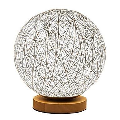 Newin Star 3D LED rota la luna de la lámpara minimalista sólida ...