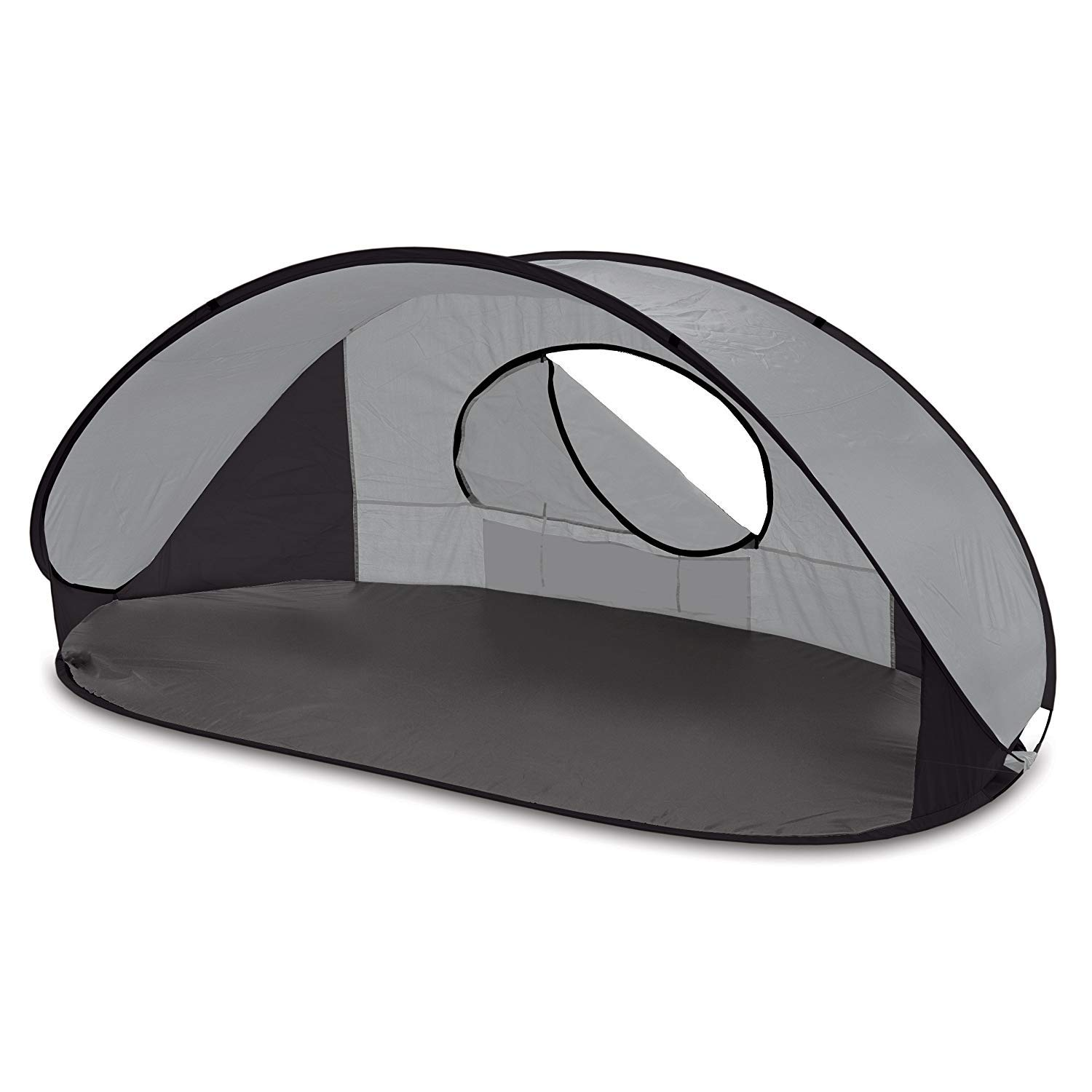 ONIVA - a Picnic Time Brand Manta Portable Pop-Up Sun/Wind Shelter, Gray by ONIVA - a Picnic Time brand