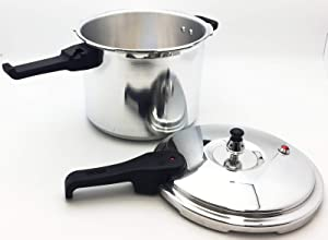 ARB MARKET 7.2 Quart Olla De Presion Aluminum Pressure Cooker Kitchen Stovetop Pot Large Reduce Cooking Time Up To 75%