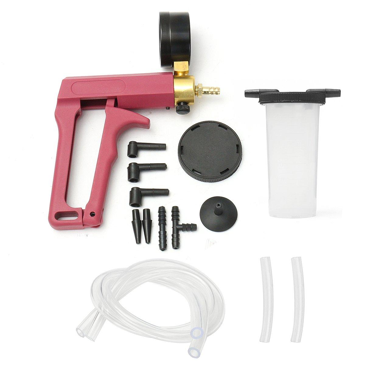 Tools - Hand Vacuum Pump Held Brake Bleeder Tester Bleed Bleeding Kit Motor Bike Car by Auto-Tools (Image #3)