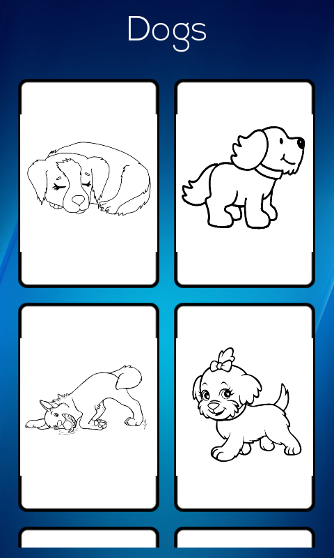 Amazon Dog Coloring Book Appstore For Android