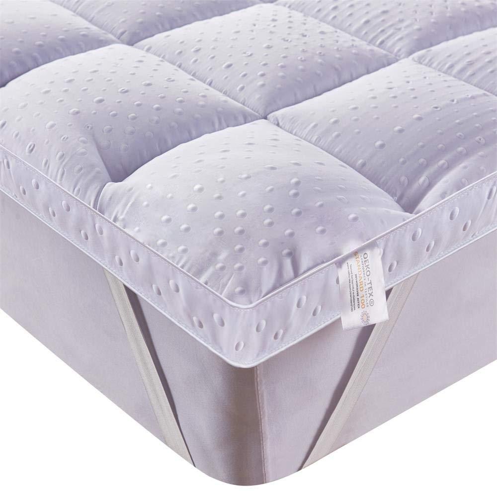 Bedecor® Colchoncillos,Colchón Topper de Microfibra,Antialérgico,Suave- (120x190/200 cm): Amazon.es: Hogar
