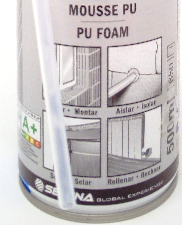 Espuma expansiva de poliuretano 500 ml- aplicación Manual con boquilla - Forte Expansion: Amazon.es: Bricolaje y herramientas