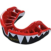 OPRO Platinum Level Mouthguard Gum Shield for Rugby, Hockey And Other Contact Sports, Ages 7+
