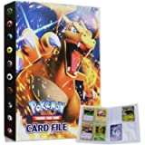 Album for Pokemon Cards, Pokemon Trading Card Protector Sleeves, Pokemon Card Holder Binder, Album Binder for Pokemon…