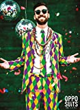 OppoSuits Mens Harleking Party Suit - Crazy