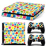 Gam3Gear Pattern Series Decals Skin Vinyl Sticker for PS4 Console & Controller – Square Kaleidoscope Review