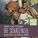 Die Schatzinsel Hörbuch von Robert Louis Stevenson Gesprochen von: Thomas Dehler