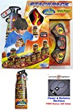 Speedstack BLACK FLAMES 2017 Limited Edition Set of 12 Plastic Stacking Competition Cups with Black Flames Mat and Timer by Speed Stacks + Tops + Active Energy Power Balance Necklace $49 Value