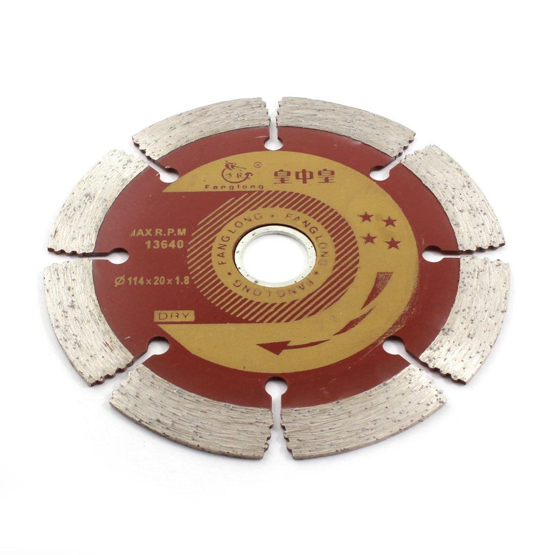 De plata gris de mármol rojo de corte 114 mm Diámetro de la hoja de sierra de diamante 13640RPM Accesorios de taladro