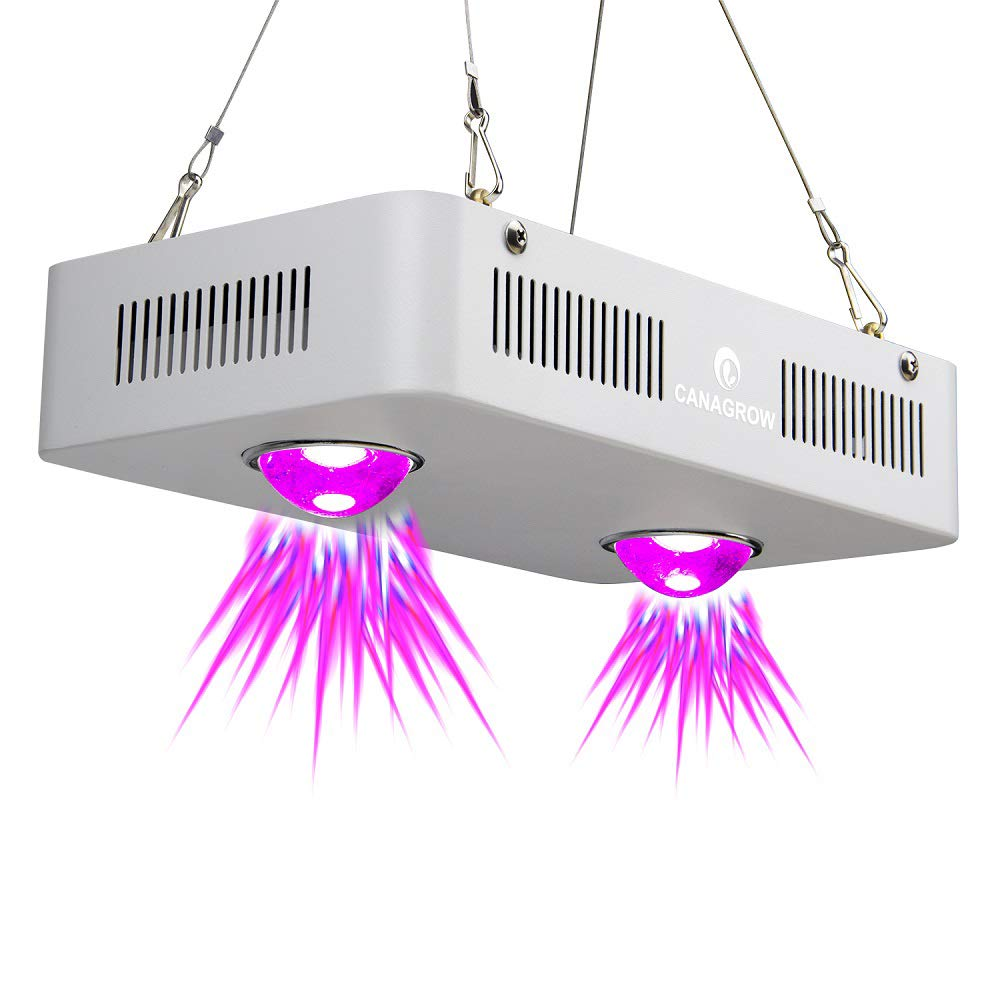 LED Plant Grow Light, CANAGROW 300W Full Spectrum COB LED Grow Lights for Indoor Plants - Indoor Plant Growing Lamp for Vegetables Flowers and Seedlings by CANAGROW
