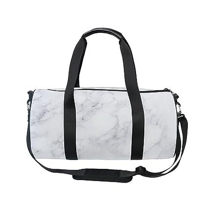 Amazon.com: oulian bolsa de gimnasio bolsa de viaje de lona ...