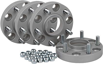 Lot de 4 /élargisseurs de voie en aluminium 30 mm par disque 60 mm par essieu inclus Homologation T/ÜV