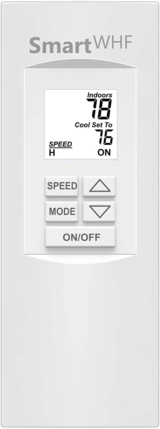 Amazon Com Whole House Fan Wireless Remote With Temperature Timer And Speed Control Eliminates All Wiring Within The Home And Improves Comfort And Energy Efficiency Model Rt3k Kitchen Dining