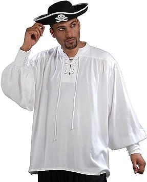 ThePirateDressing para Disfraz de Jack Sparrow de Costura para Camisas Medieval para Disfraces Medievales de Mujer Poeta [de Color Blanco de]: Amazon.es: Ropa y accesorios