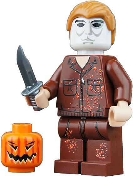 Custom Hallowen Figure Ghost Lego Fit Minifigure Building Toys