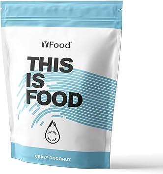 YFood Coconut | Batido en Polvo | Sustituto de comida sin gluten ni lactosa | 17 comidas, 26 vitaminas y minerales | proteína en polvo | batido de ...