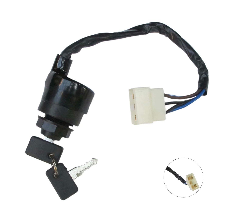 High Preformance Ignition Key Switch for Replacing KAWASAKI MULE 610 4X4 KAF400 KAF 400 2005-2016