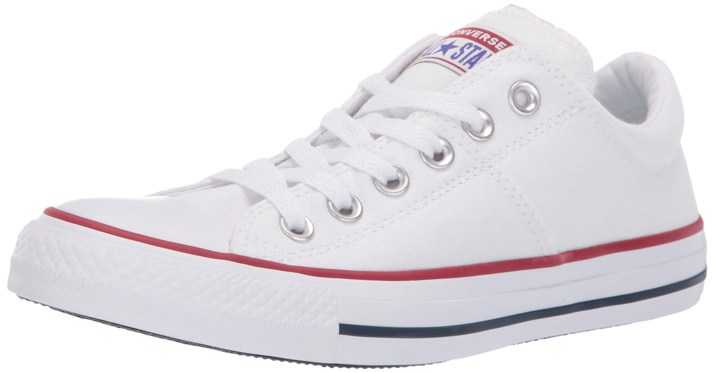 Converse Women's Chuck Taylor All Star Madison Low Top Sneaker White, 8 M US