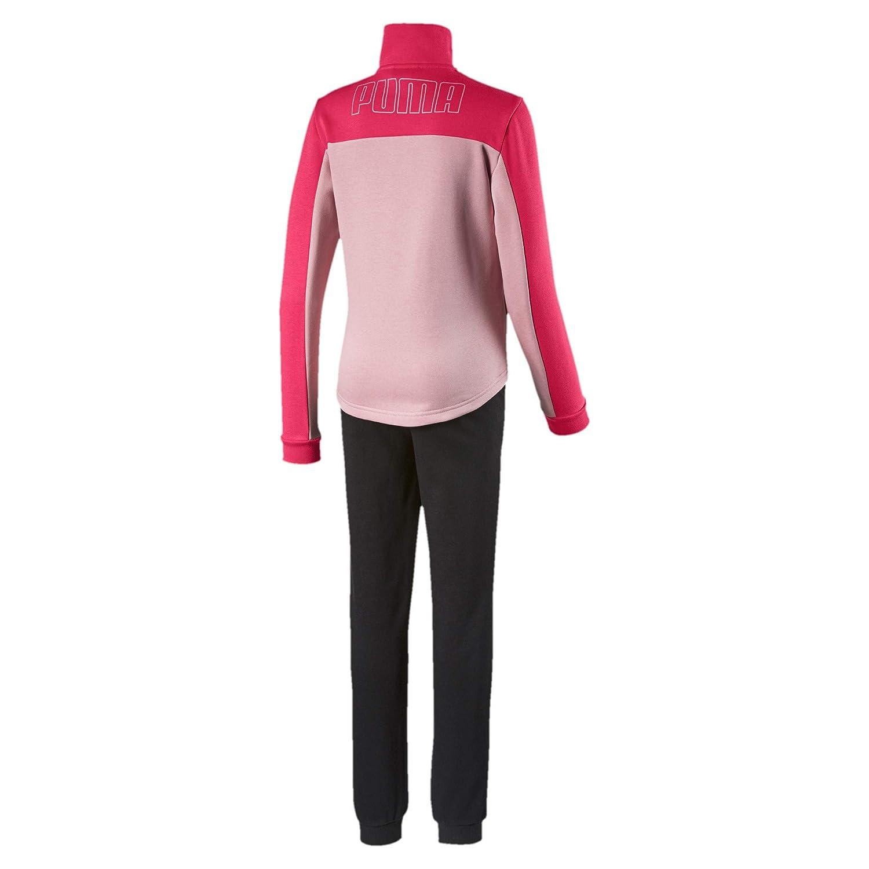PUMA Sweat Suit G - Chándal Infantil, Color Rosa: Amazon.es: Ropa ...