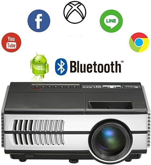 AI LIFE Mini proyector LCD inalámbrico con Bluetooth WiFi HD Smart TV Video Projecteur Soporte 720P