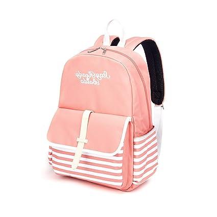 2d3cbd9c0a Amazon.com  BAIDA Teen Backpack for School Casual Daypack ...