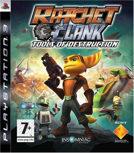 ratchet and clank tools of destruction wallpaper