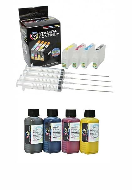 Cartuchos recargables para Epson 400 ml InkTec con tinta de ...