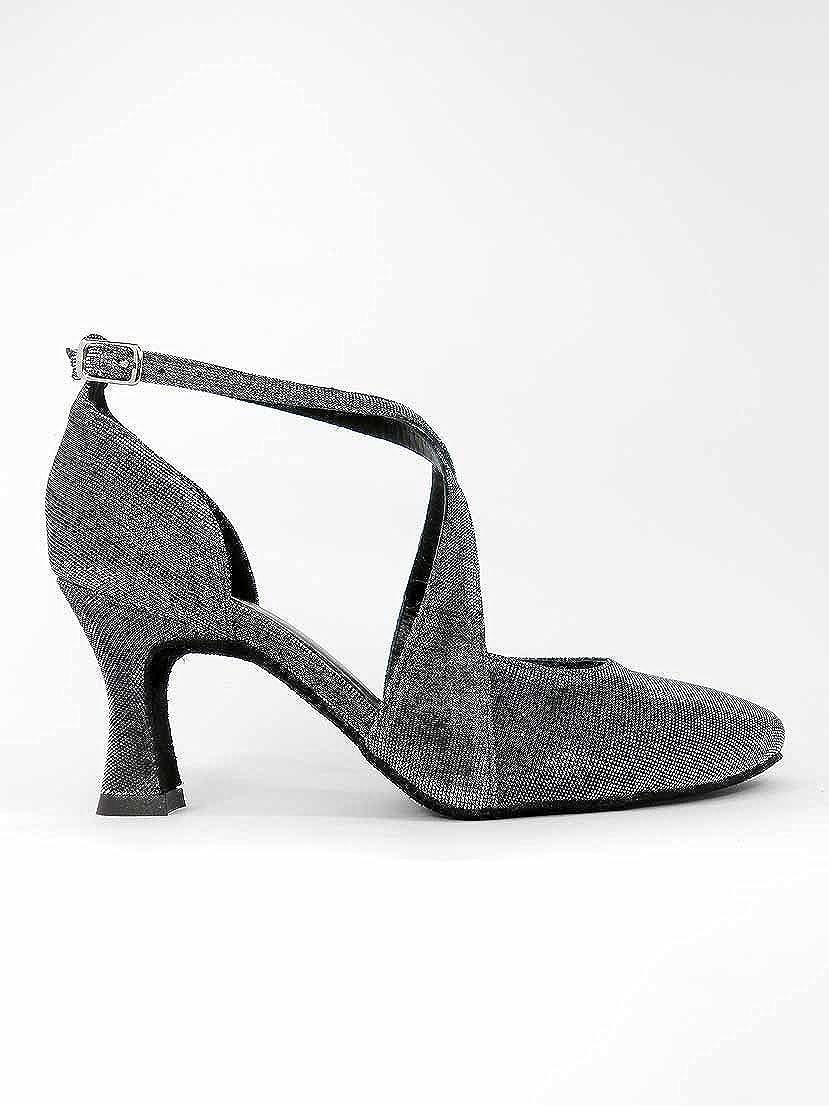 Ritmo Latein Salsa Rumba Tango Tango Tango Damen Tanz Schuhe VL135 mit Chromledersohle, Absatz 7 cm B01E74TUF0 Tanzschuhe Hochwertige Materialien bd9c3c