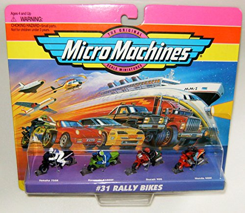 Micro Machines Rally Bikes #31 B Collection