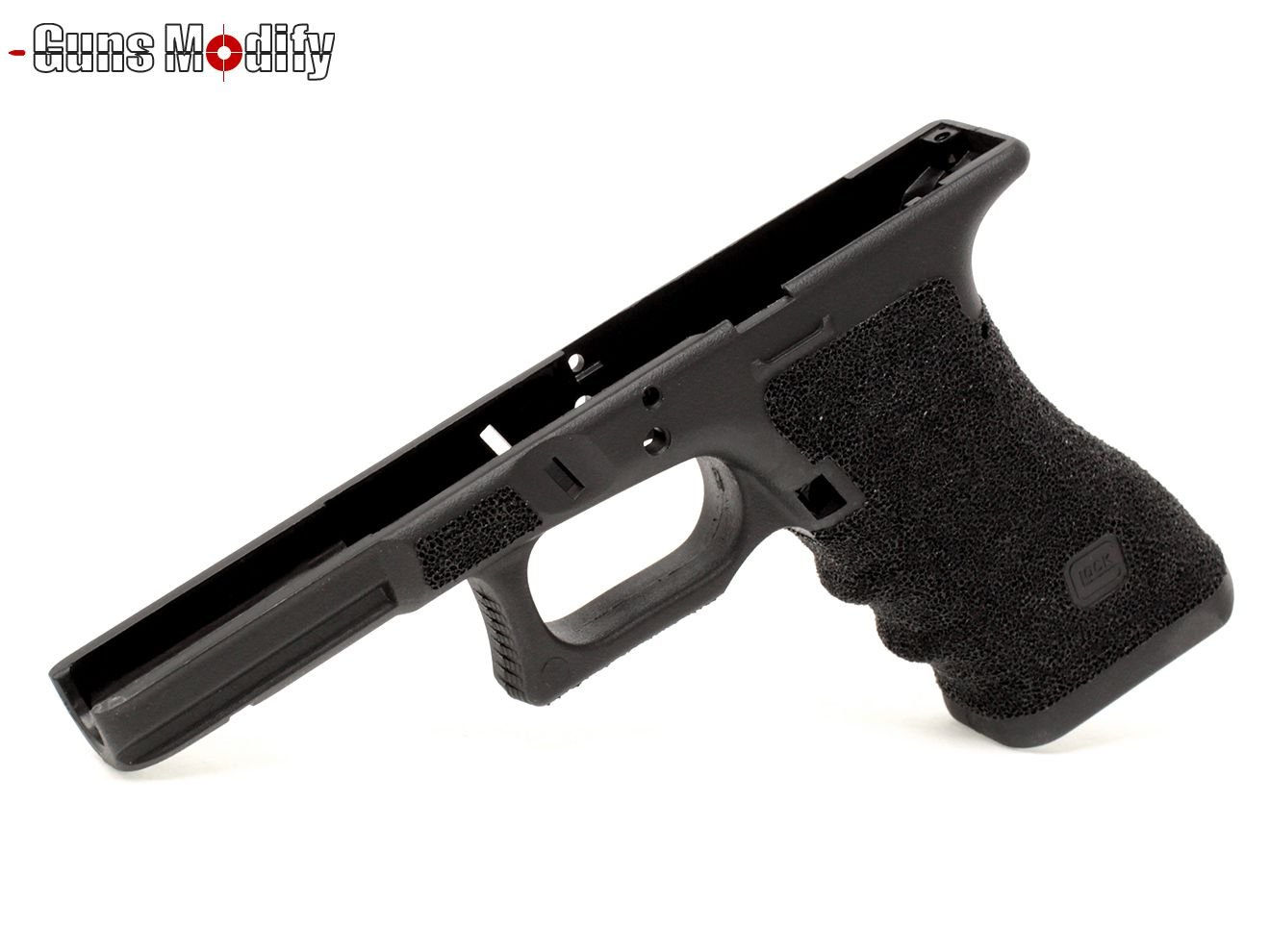 Guns Modify Gen3 ポリマー樹脂+ファイバー Tスタイル CNC ステッピングフレーム グロックシリーズ BK B0772HTXL7