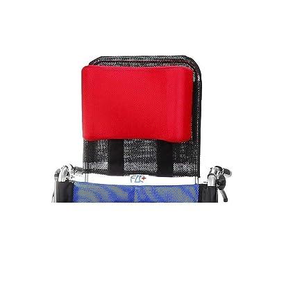 Reposacabezas de la silla de ruedas Soporte para el cuello Acolchado de la cabeza ajustable para