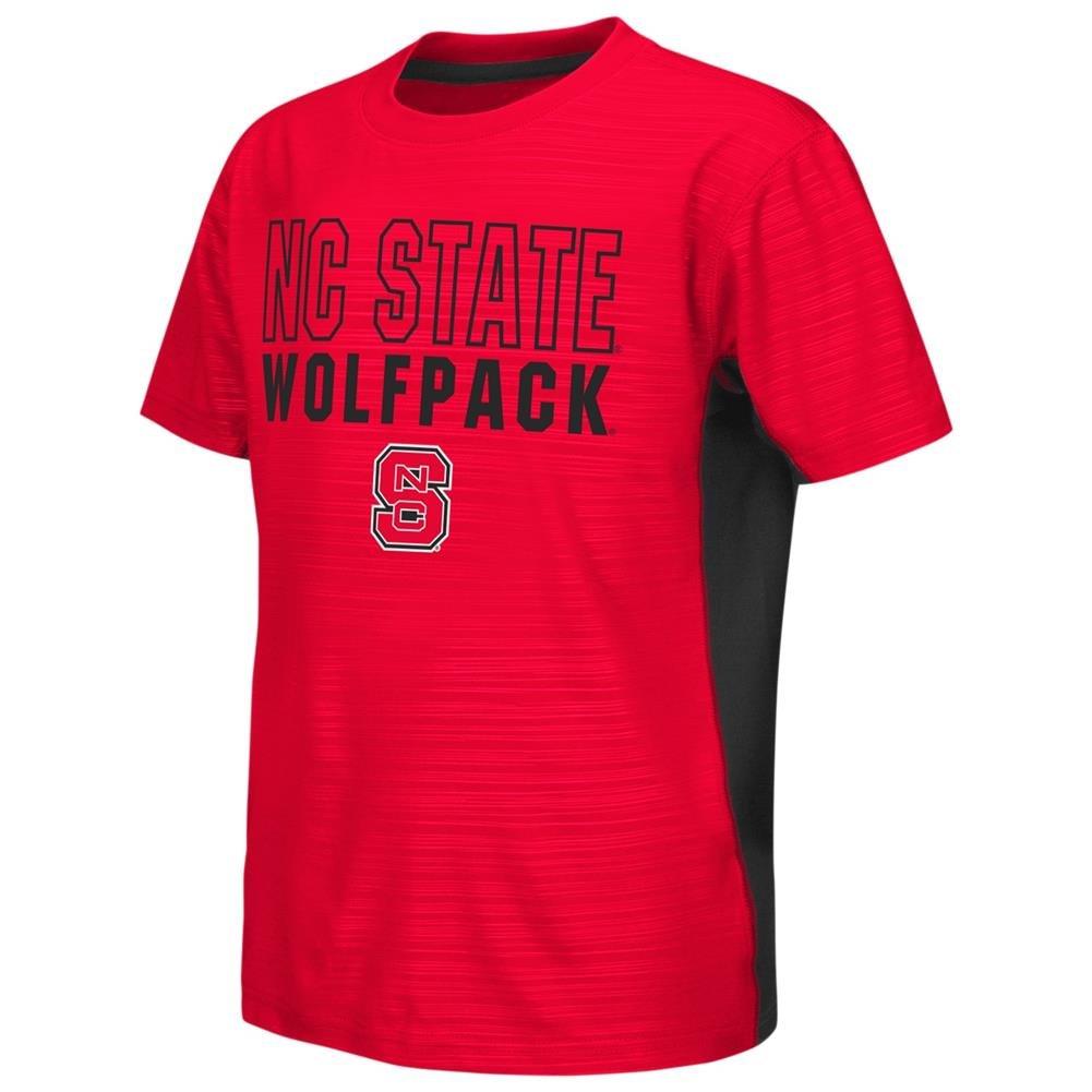 【お取り寄せ】 NCSU NC Youth State Wolfpack Youth (20) TeeパフォーマンスポリロゴTシャツ NC YTH (20) B06WGRMCGW, 富山県:c6a42fe7 --- a0267596.xsph.ru