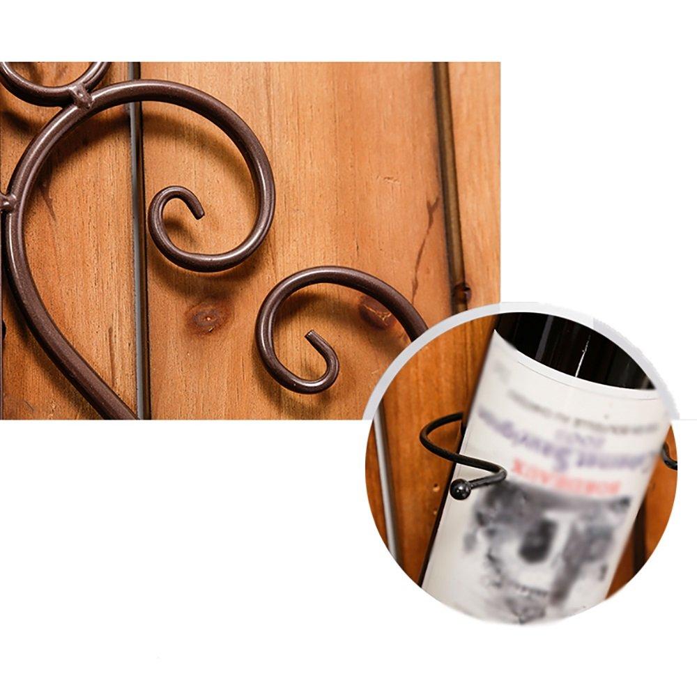 Wandmontage Küche/Esszimmer Weinregal 3 Sticks Mode Nach Hause ZHILIAN®  Eisen Farbe : Weiß ZHILIAN SHANG MAO