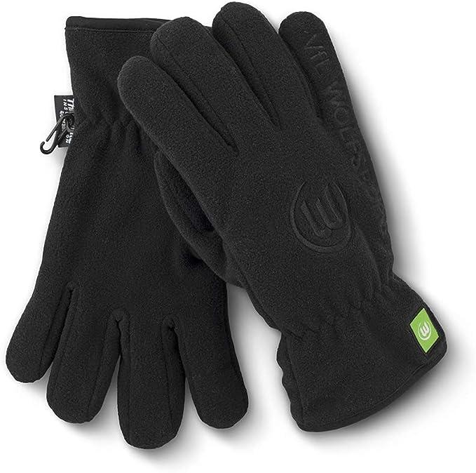 2XL VfL Wolfsburg Fleecehandschuhe Handschuhe Gr