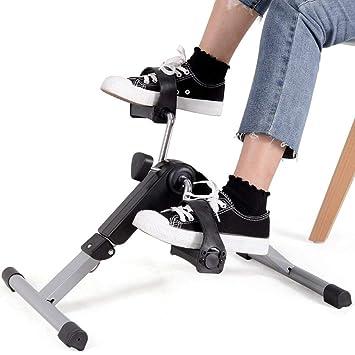 LIJJY Mini-Bike Heimtrainer Pedaltrainer Bewegungstrainer Bewegungstraining Fitnessger/ät F/ür Arme Und Beine F/ür Senioren Und Kinder