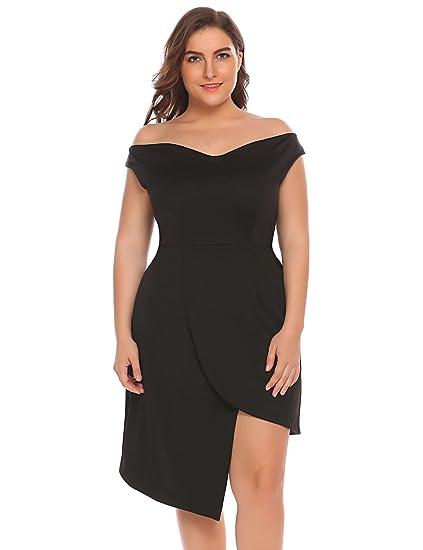 101709262 5 vestidos de fiesta elegantes y modernos para mujeres plus size ...