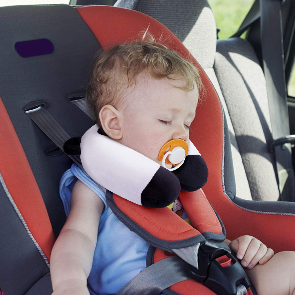 GLAUCUS Kids Travel Pillow For Car Seat Toddler Neck Pillows Chin Head Support