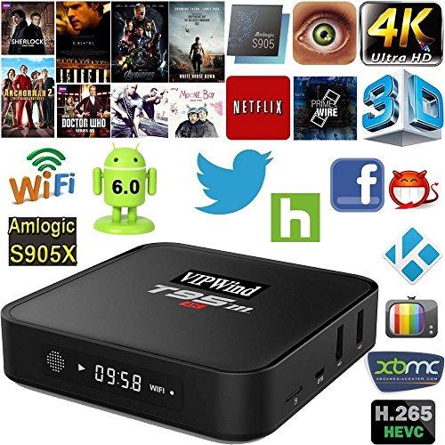 Android TV Box,  T95M Tv Box 1/8Gb 2.4G Wi-Fi Amlo…