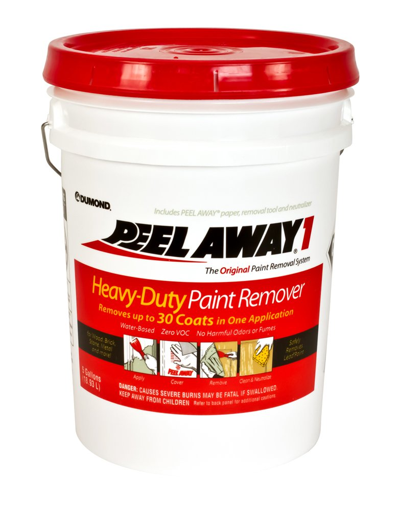 Dumond Chemicals, Inc. 1005N Peel Away1 Heavy-Duty Paint Remover, 5 Gallon Kit