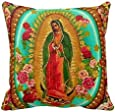 Our Lady Guadalupe Mexican Saint Virgin Mary Pillow Case