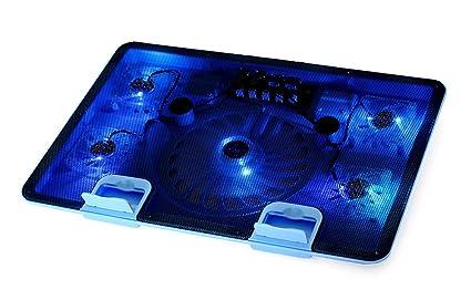 Welltop® Notebook Laptop Cooling Pads – Panel de refrigeración para portátil (5 ventiladores de