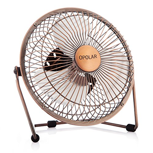 Little Desk Fan : Opolar inch desktop usb fan powered personal table
