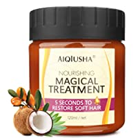 Magical Hair Mask 120ml with Organic Argan Oil Coconut Oil, 5 Seconds to Restores...