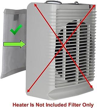 pollentec purificador de aire Filtro electrostático, mantener tu interior de cerámica eléctrica portátil calentador ...