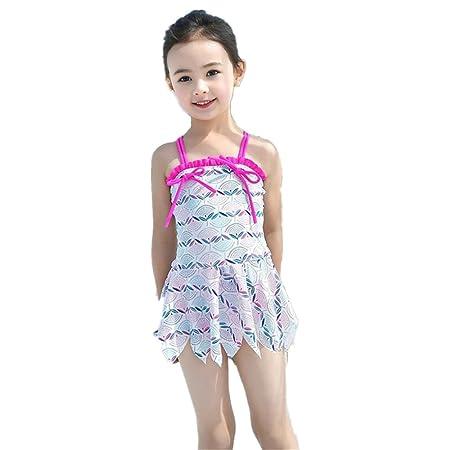 639090395 SunnyCheng little girls swimwear Children's Swimwear Female Children Girls  1-9 Years Old Swimdress Small