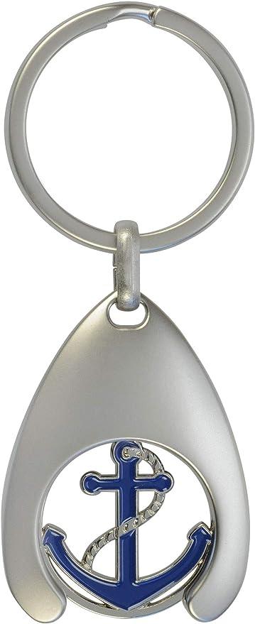 Schlüsselanhänger Mit Einkaufswagenchip Anker Koffer Rucksäcke Taschen